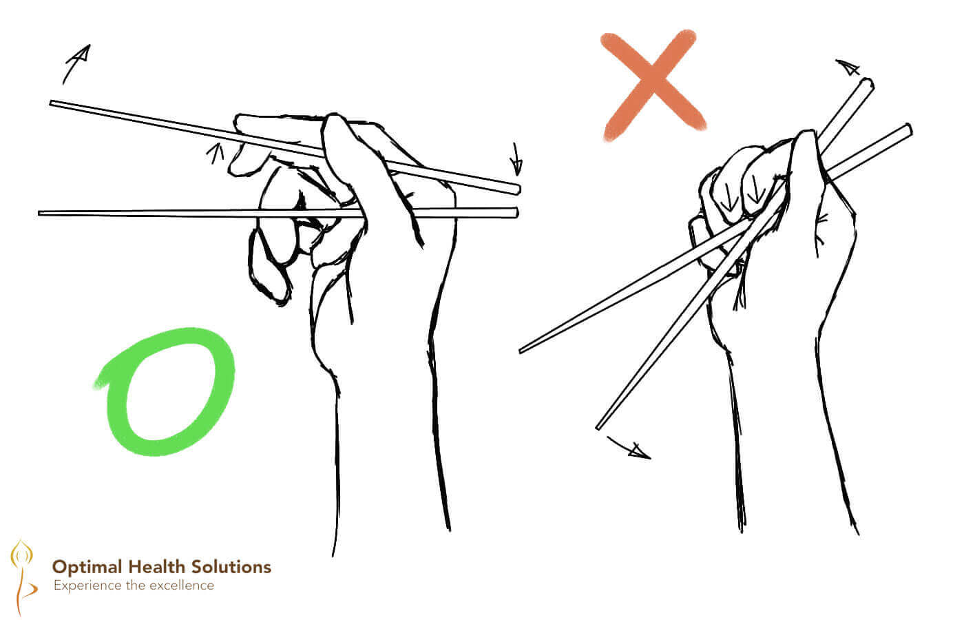 Try chopsticks if your family loves sushi