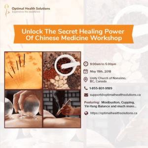 Unlock the secret healing power of chinese medicine workshop