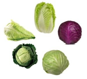 Cabbage - Improves the elasticity of blood vessels