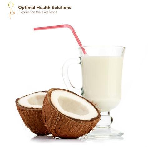 Coconut Milk Mixed Drink