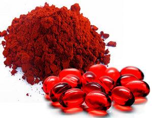 Astaxanthin-rich food sources