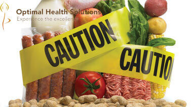 Contaminated food and drinks