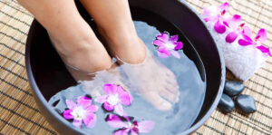 foot bath for athlete's foot