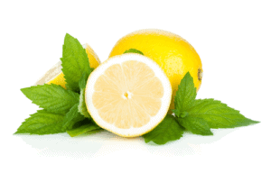 pepper mint and lemon for constipation