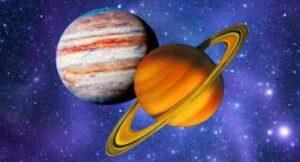 Jupiter and Saturn Conjuction
