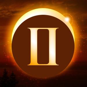 Solar eclipse gemini