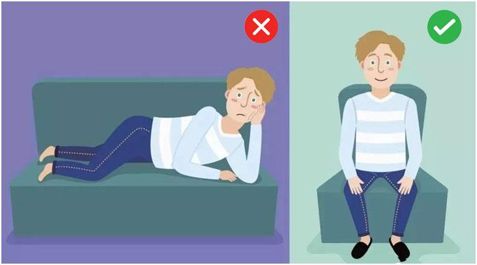 lying positions